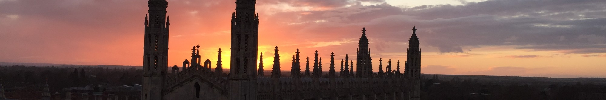 Cambridge sunset